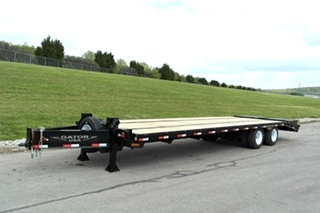 20 ton equipment trailer with air brakes